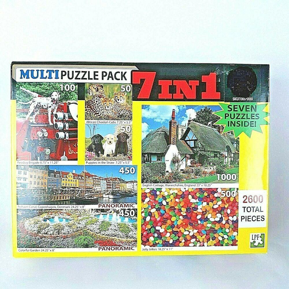 Jigsaw puzzle 2600 pc english cottage garden copenhagen