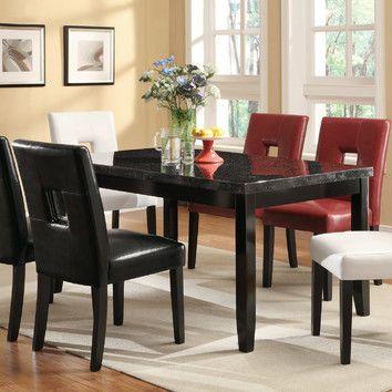 Varick Gallery Wickliffe Dining Table & Reviews | Wayfair