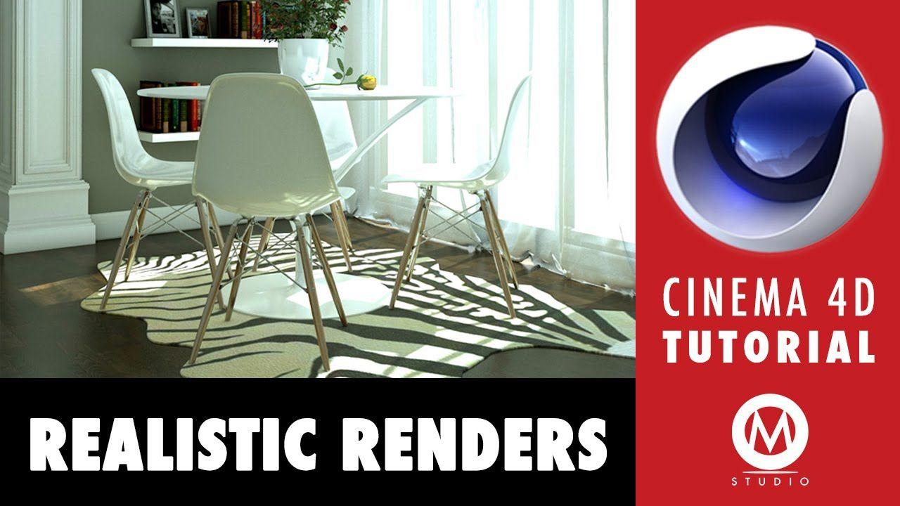 Cinema 4D Tutorial Learn The Secrets Of Realistic Renders In 6