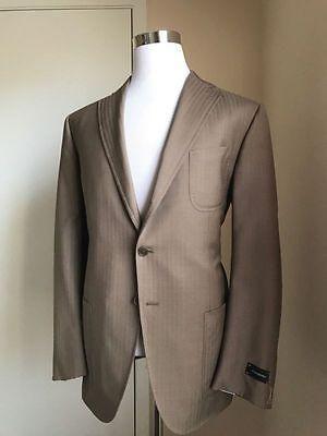 45557198d5 NWT $3195 Ermenegildo Zegna Trofeo Comfort Suit MD Brown 44 US ...