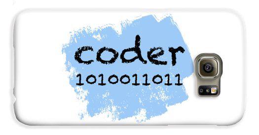 coder Galaxy S6 Case