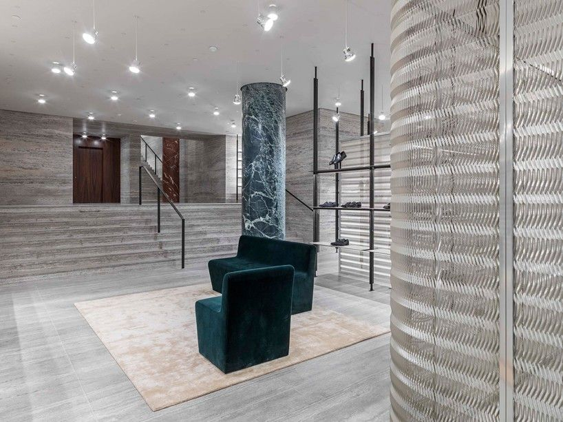 david chipperfield creates new concept clothing store for brioni in paris