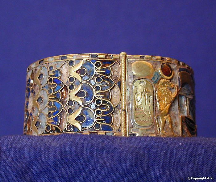 Gold Bracelet From The Treasure Of The Royal Tombs Tanis