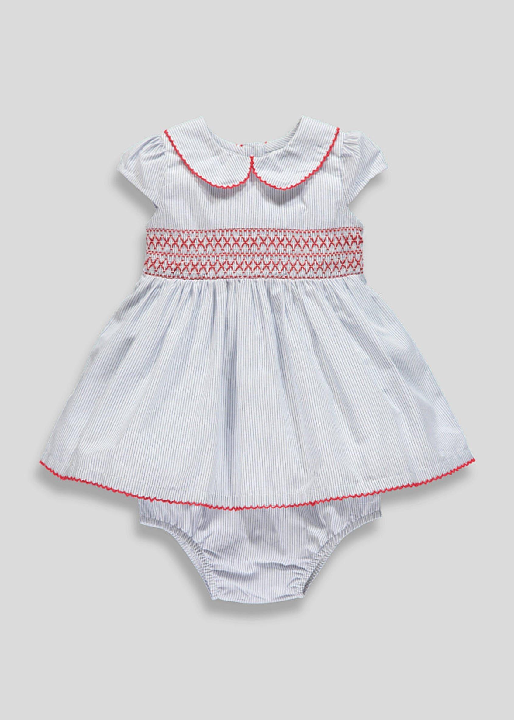 79d312ec3 Girls Stripe Dress & Knickers Set (Newborn-18mths)   Baby/older kids ...