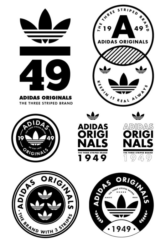 Pin by Odile Riviere on ARTS A | Logos design, Adidas design