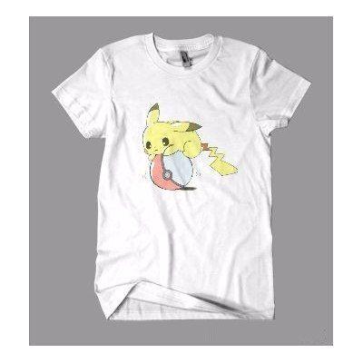 29da108b32 Camisetas · Mega Promoção! Pokemon Go - Pikachu E Pokebola - Algodão - R   16