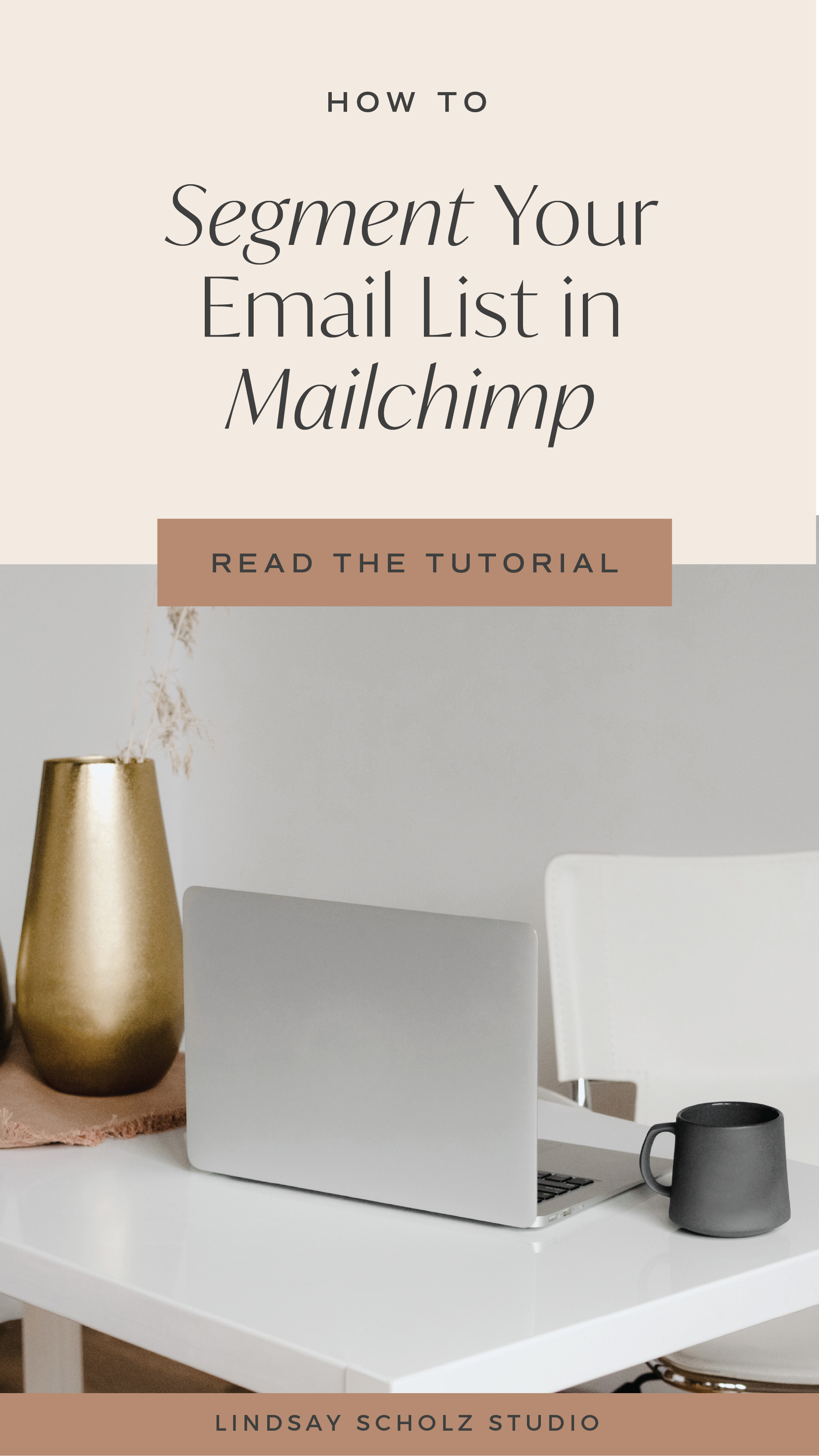 How To Segment Email Lists In Mailchimp Meet Our Top 3 Must Have Segments Lindsay Scholz Studio Creative Studio For Woman Owned Businesses Email Marketing Newsletter Email Marketing Strategy Email Marketing Platform