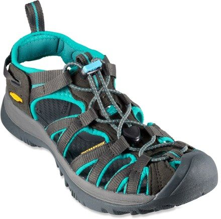 54c54ece8b50 Elastic cording gives these lightweight performance sandals a secure fit