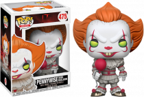 It Pennywise With Balloon Funko Pop Vinyl Figure