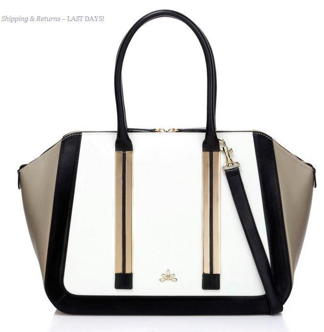 Milan Tricolour Handbag By Milli Millu This Luxury British Brand Favoured Celebrities Such As Cheryl Cole Pippa Middleton Nicole Sherzinger
