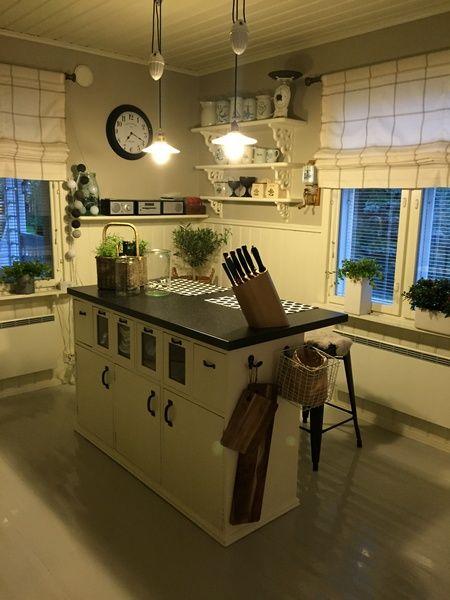 keittiö,saareke,keittiön sisustus