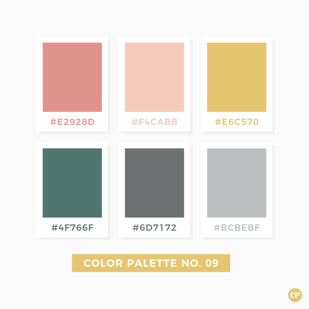 Color Inspiration In 2019: Color Palette No. 09 In 2019