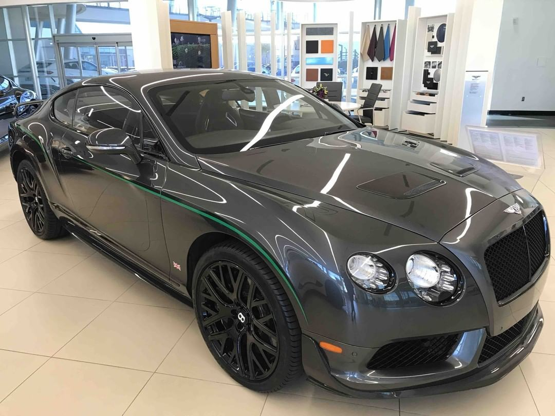 Stop by and see this 2015 Bentley Continental GT3-R, number 49 of 99 U.S. cars with just 10,282 miles! The listing price is $177,882. . . .… #sweetcars