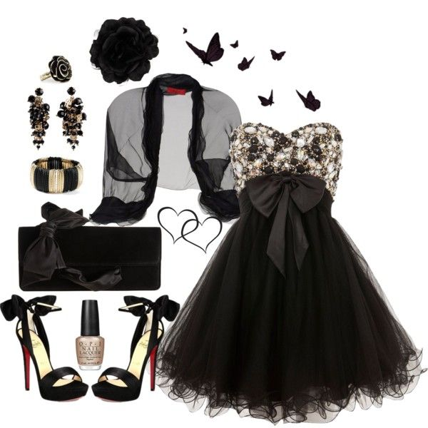 """Gothic Princess"" by ealkhaldi on Polyvore"