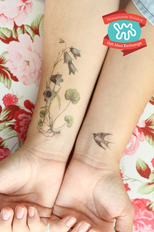 Homemade Holiday Gift Idea: Make Custom Temporary Tattoos | Homemade ...