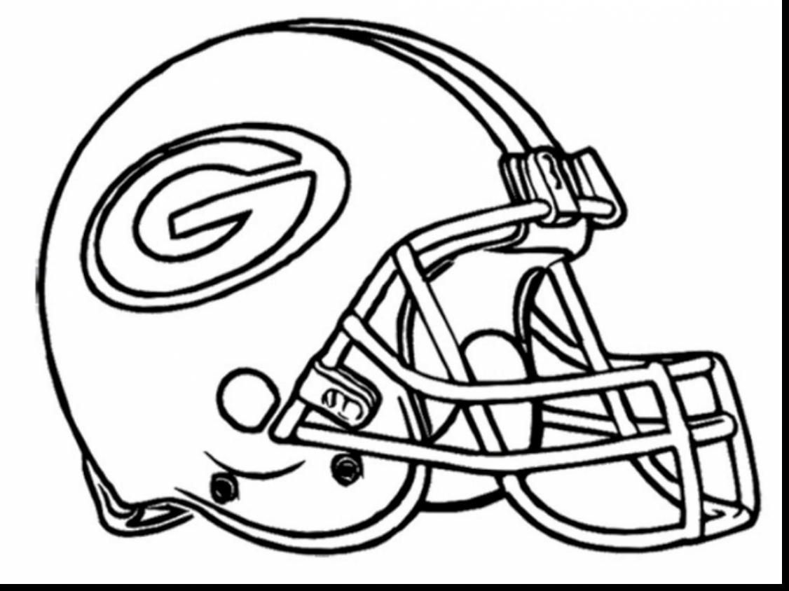 Image Result For Football Coloring Pages To Print For Free Black And White Green Bay Packers Football Coloring Pages Nfl Football Helmets Sports Coloring Pages