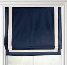 Image Result For Navy And Cream Roman Blinds
