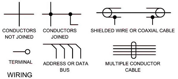 Electrical Schematic Symbols - Names And Identifications ... on