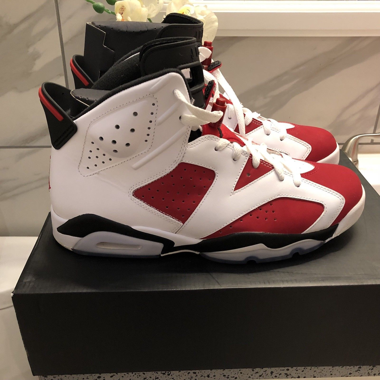 d86d7387bfe Nike Air Jordan VI Carmine size 11 retro 6 in 2019 | $neakers ...