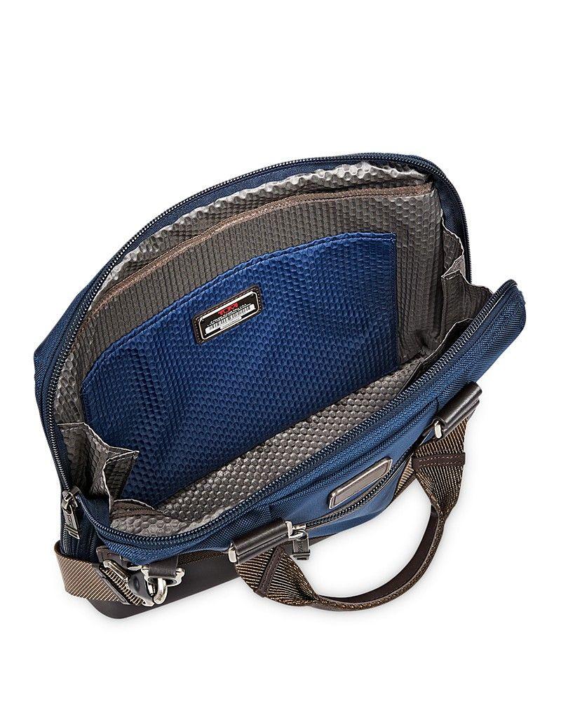 Earle Compact Briefcase Bags, Tumi, Briefcase