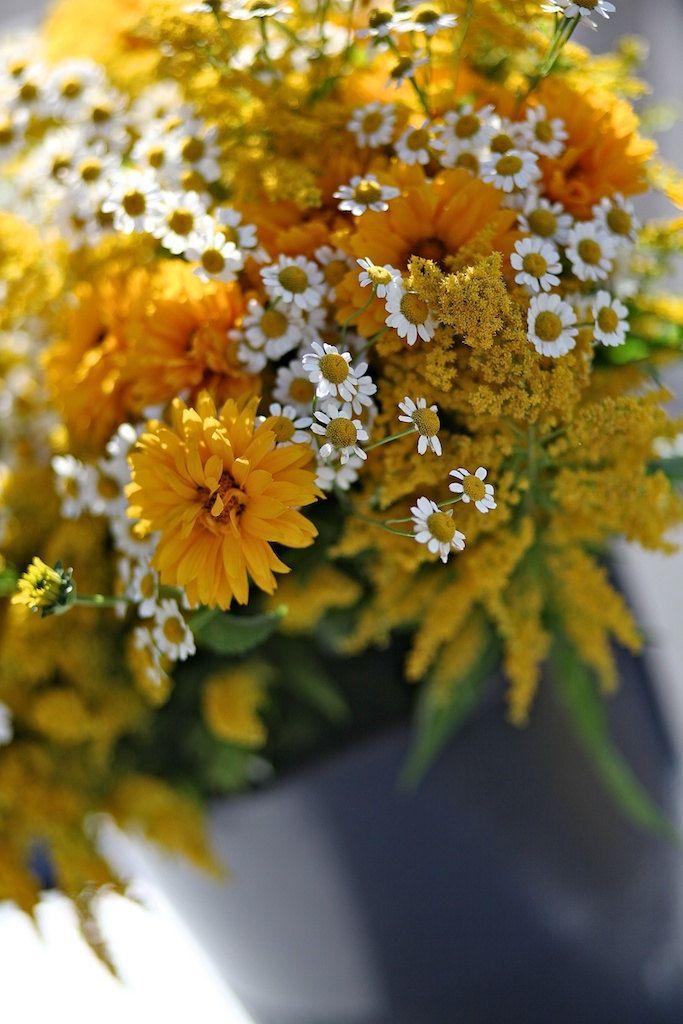 Summer Flower Bouquet - Flower Photography - Kitchen Art - Farmers ...