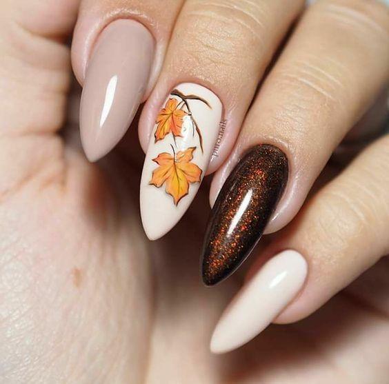 October Nail Art