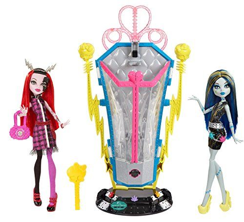 Barbie Collector Doll: Maven Gifts Monster High Freaky Fusion Recharge Chamber…