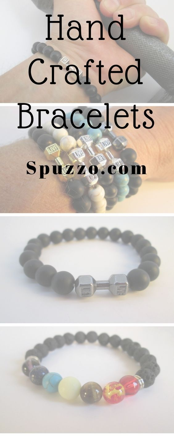 Handcrafted bracelets and jewelry avail at spuzzowoodworking