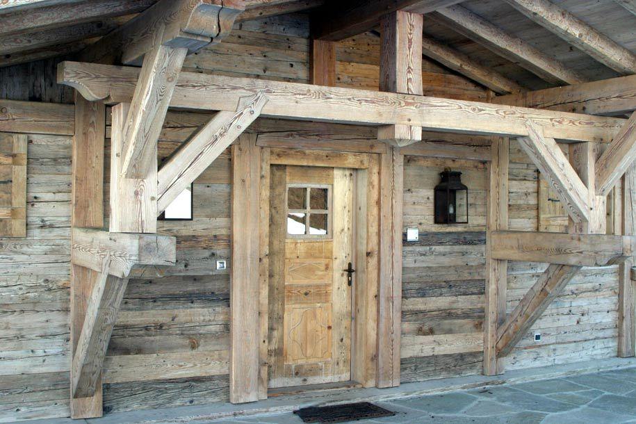pascal mossaz chalet builder in haute savoie franceoutdoor wood trim - Porte De Chalet En Bois