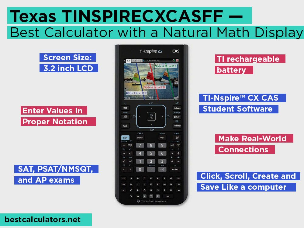 Texas Instruments TINSPIRECXCASGG Review — Best calculator