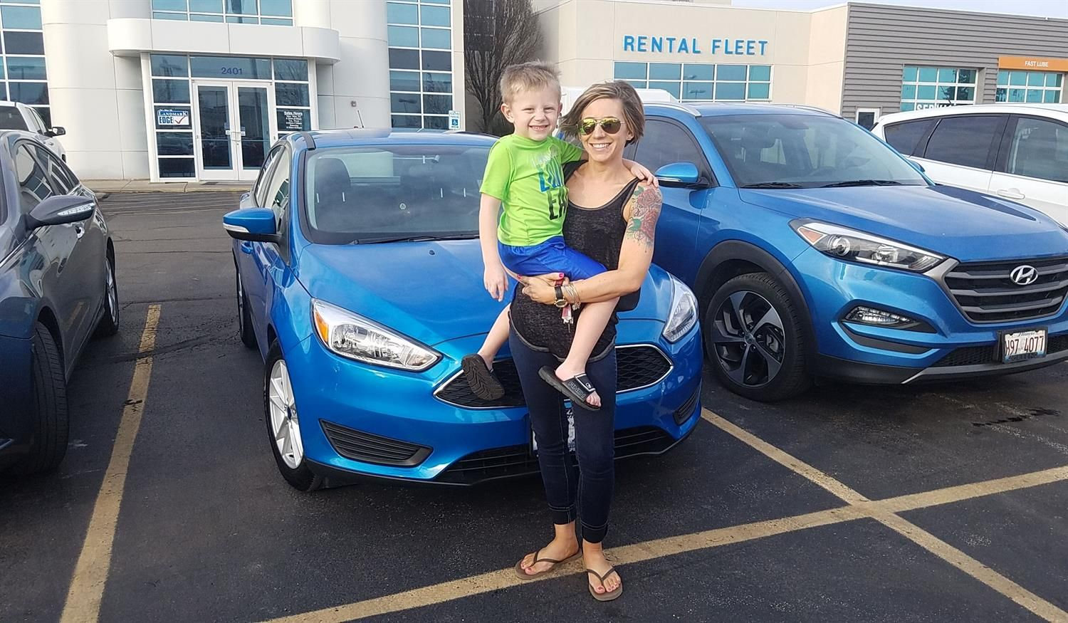 Dre And Lindsay Welcome To The Landmark Ford Family