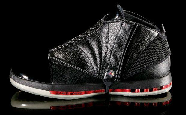 640f75dfe33 One of the most underrated and versatile Air Jordans Air Jordan XVI (16)  Black/Red