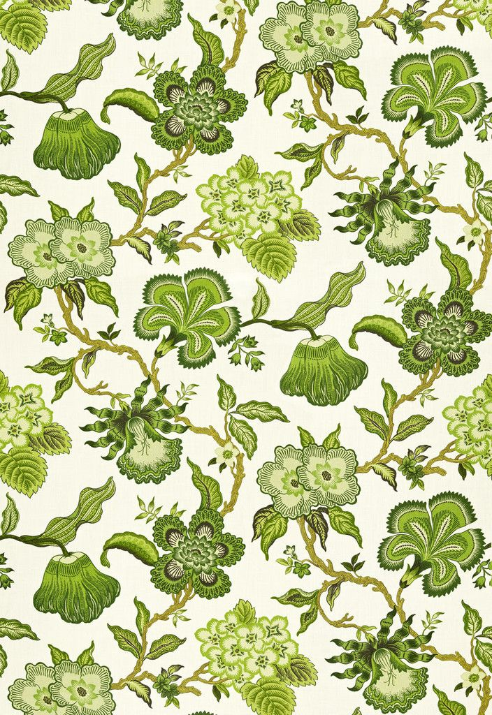 Hothouse Flowers Fabric