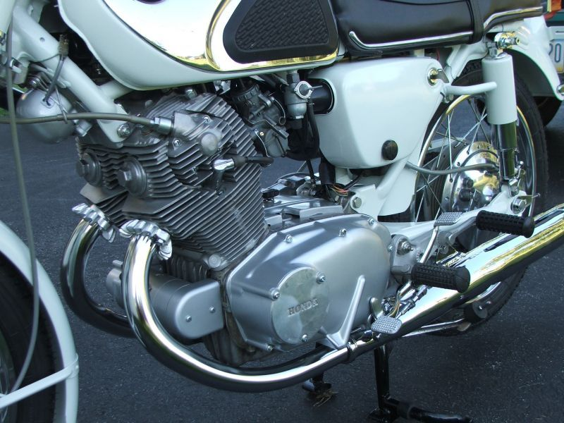 Customer restorations honda scrambler cl77 superhawk