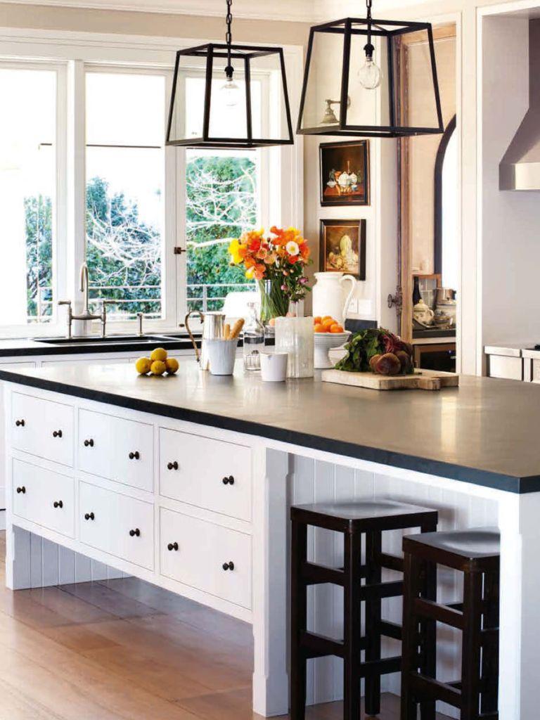 Interior Design Of Kitchen Room: Belle Magazine Black And White Kitchen