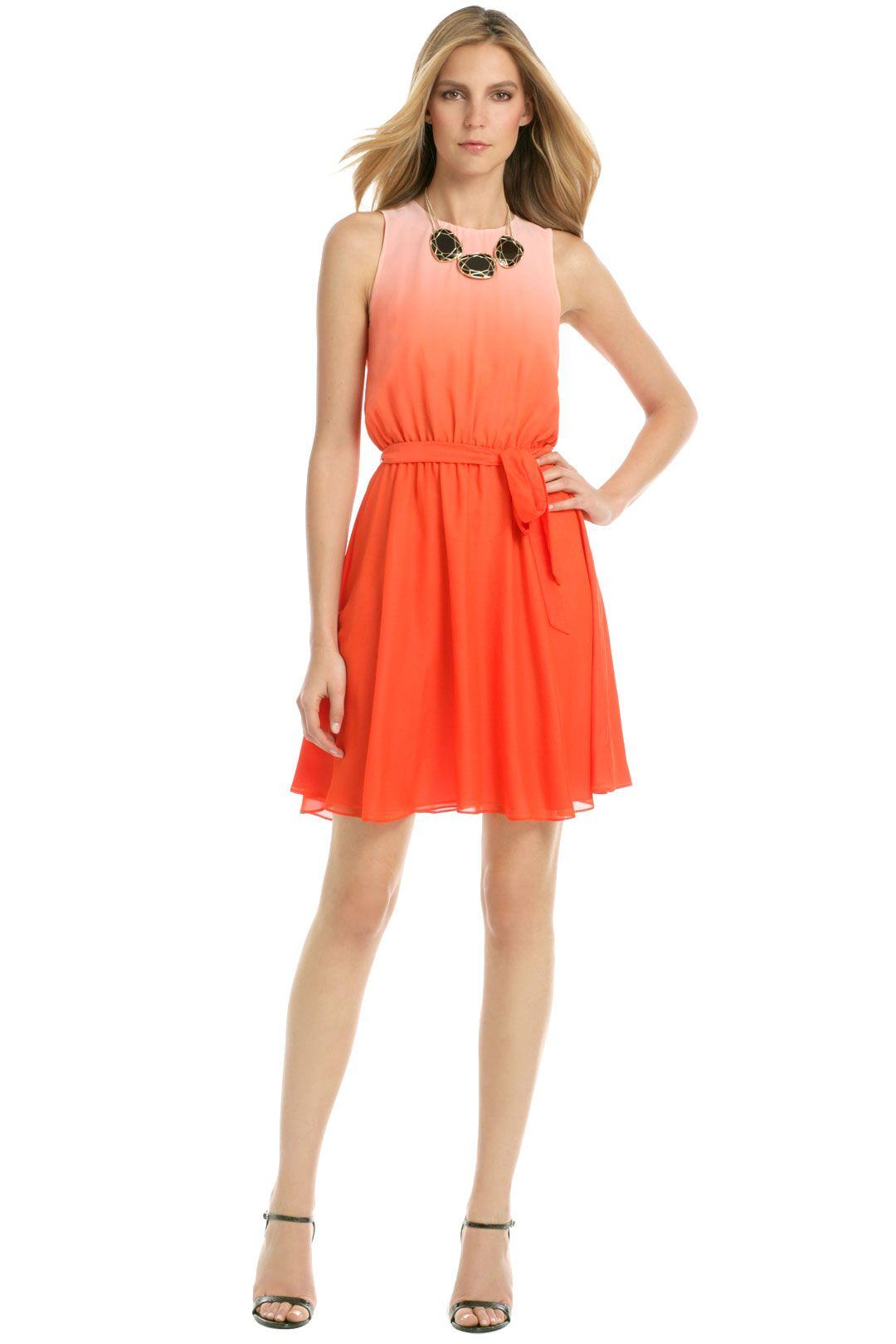 Malibu orange crush dress orange crush crushes and orange dress