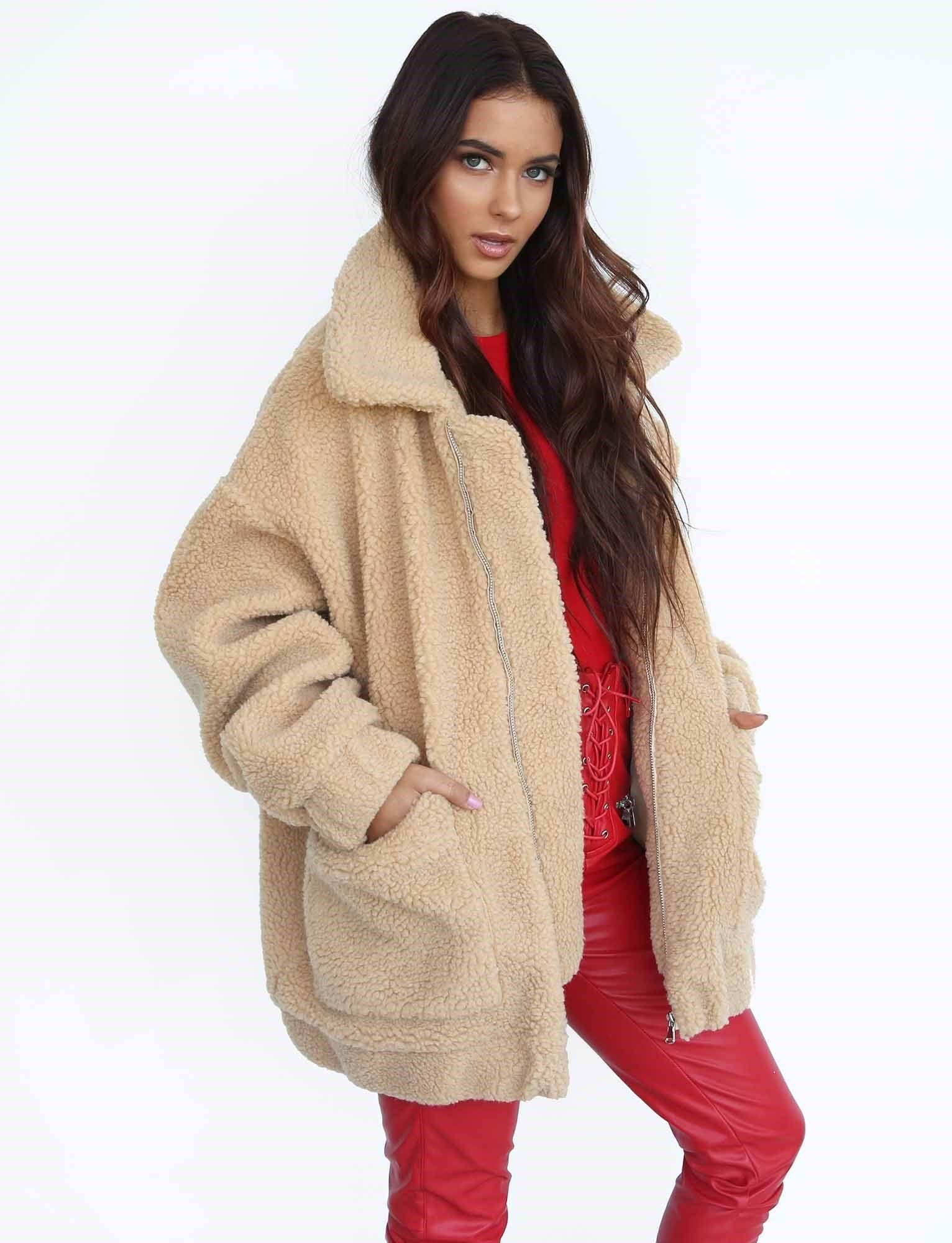 low price sale best website huge selection of Pixie Jacket   Screenshots in 2019   Teddy coat, Coat, Jackets