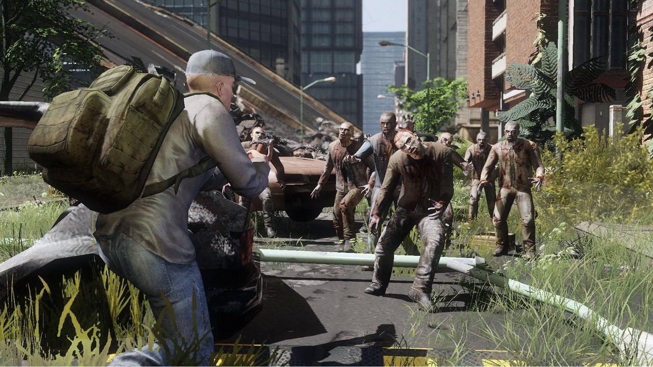 The First Ever Zombie MMO, The War Z, Announced The