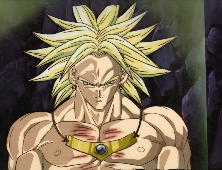 Broly In His Normal Super Saiyan Form But This Time It