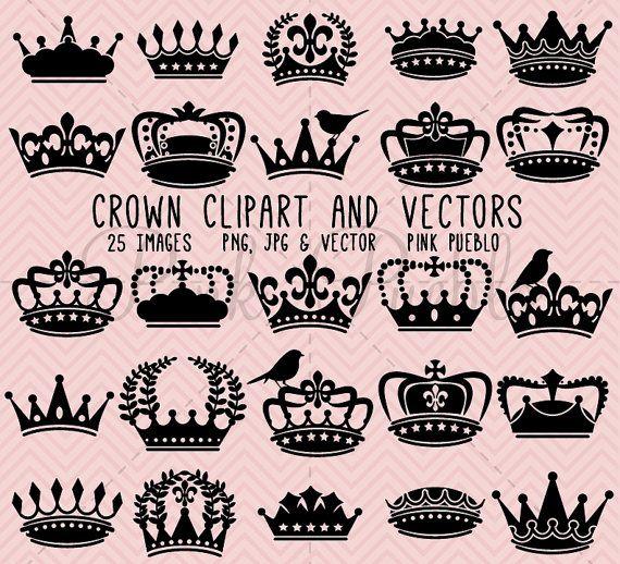 Crown Clipart Clip Art Crown Silhouette Clipart Clip Art Etsy Crown Silhouette Clip Art Crown Clip Art