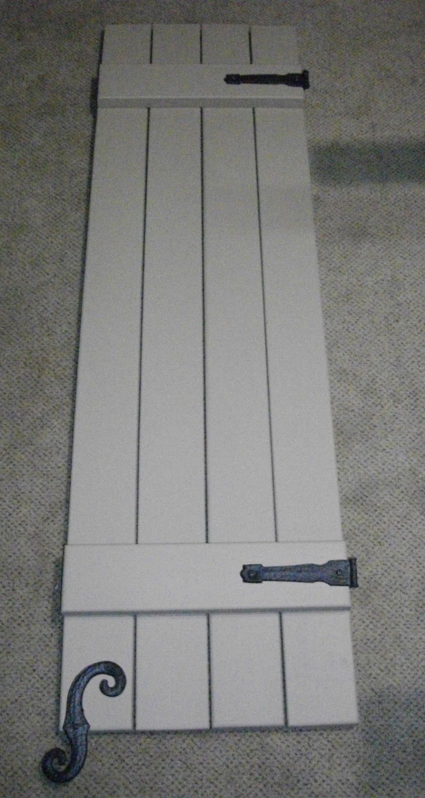 Curb Appeal Board And Batten Shutter Tutorial House Shutters Exterior
