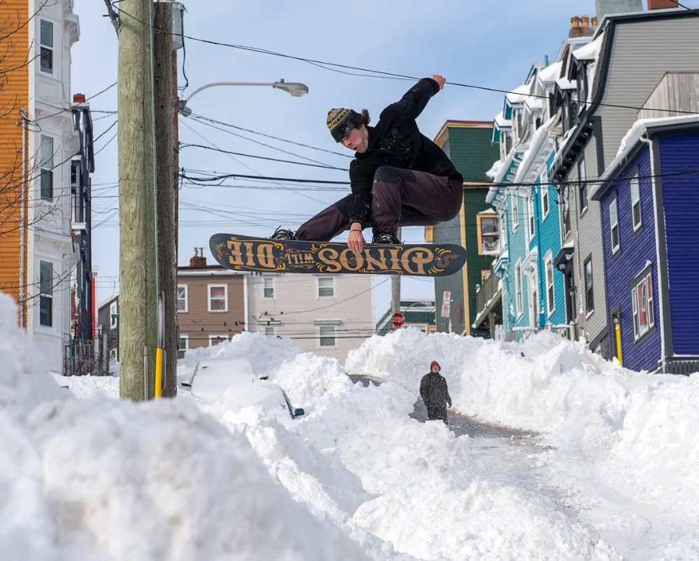 Extreme winter storm Photos from eastern Newfoundland's