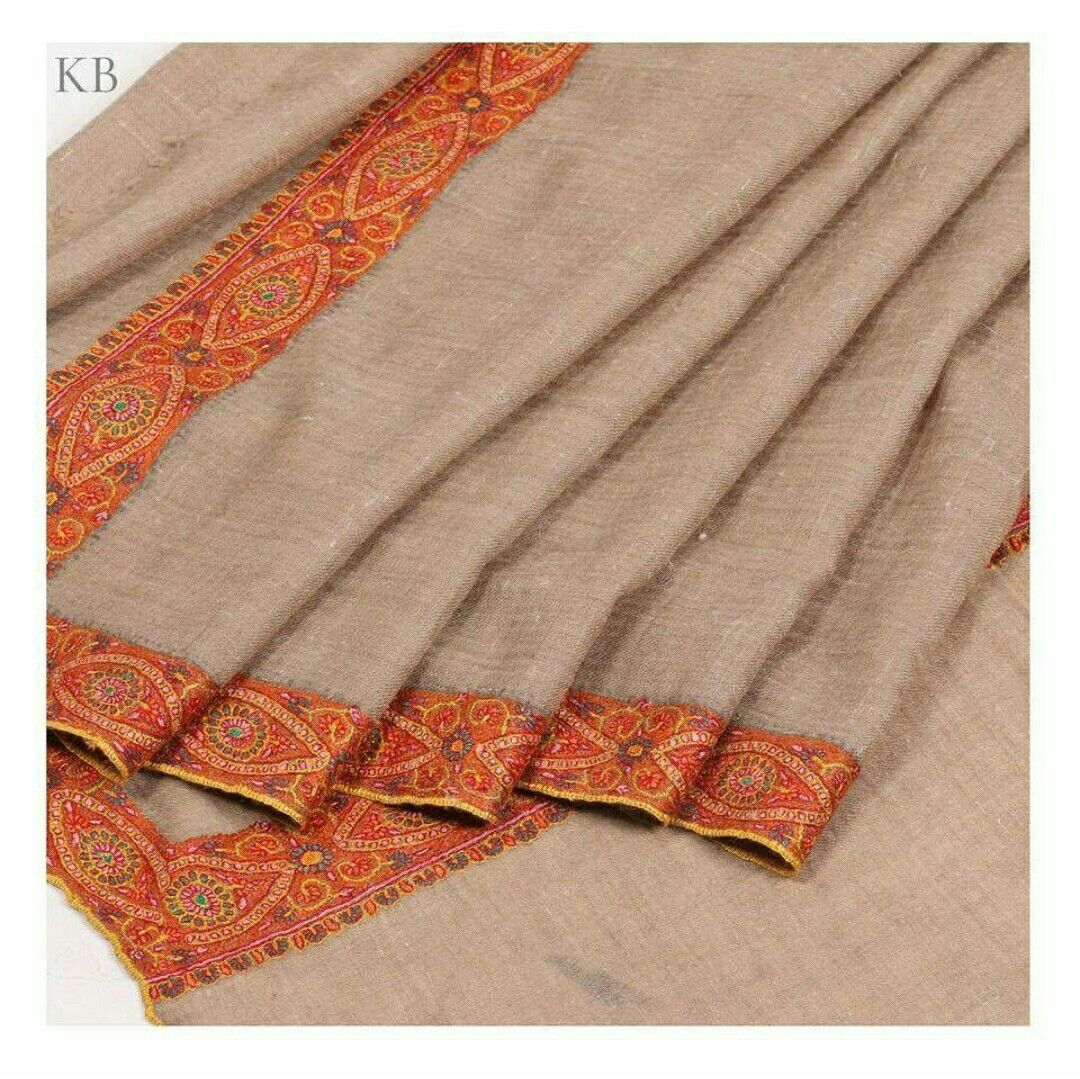 A special addition to your winter wardrobes is a kashmiri pashmina in dordar embroidery