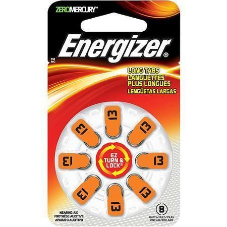 image regarding Duracell Hearing Aid Batteries 312 Coupons Printable referred to as Energizer Batteries AZ13DP EZ Flip Lock Listening to Assistance~ Sz#13