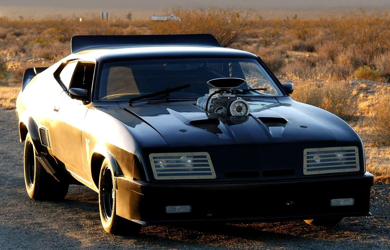 Falcon GT Pursuit Special V8 Interceptor, 1979. Based on a 1973 XB series Australian Falcon cou...
