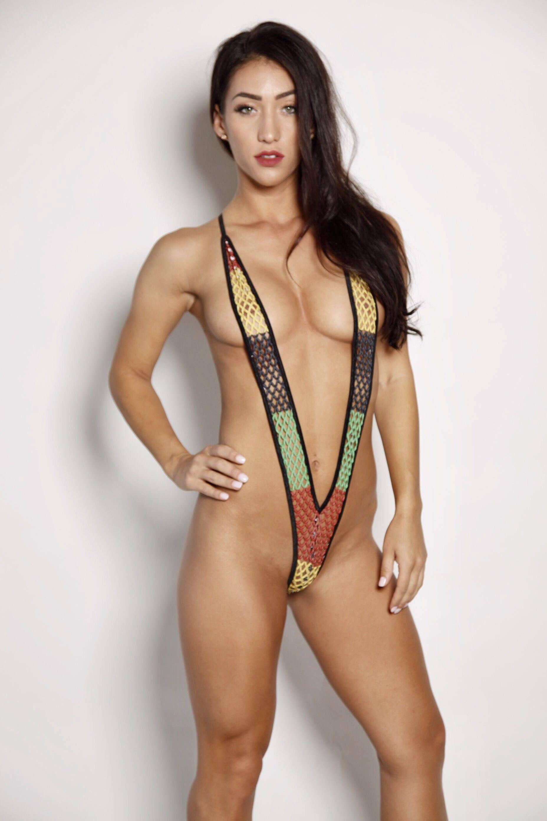 Girls bikini nylon panties