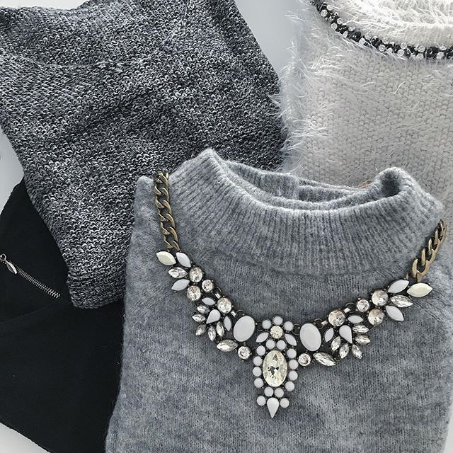 Snow White Statement Necklace - Happiness Boutique #accessories