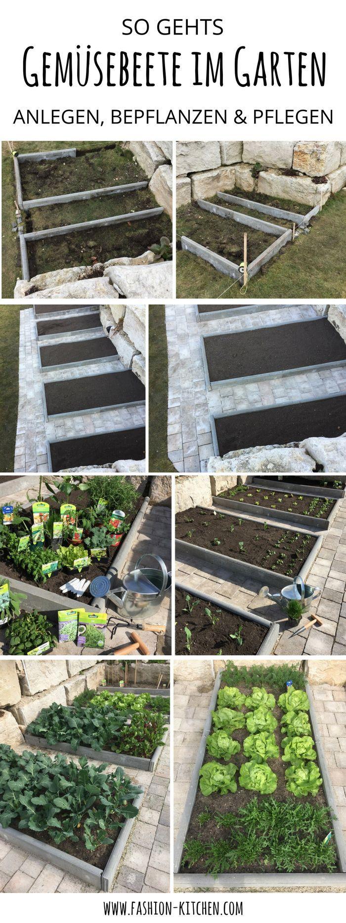 Gemüsebeete im Garten anlegen, bepflanzen & pflegen #garden