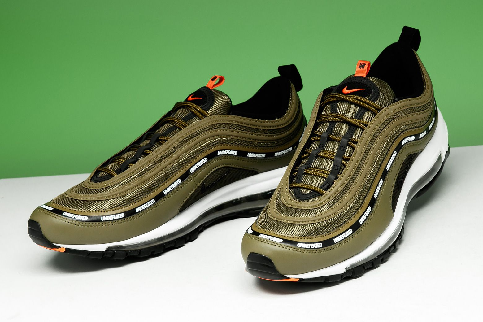 "official photos f8245 d8bfe Does the Undftd x Nike Air Max 97 ""Olive"" make it to the top"