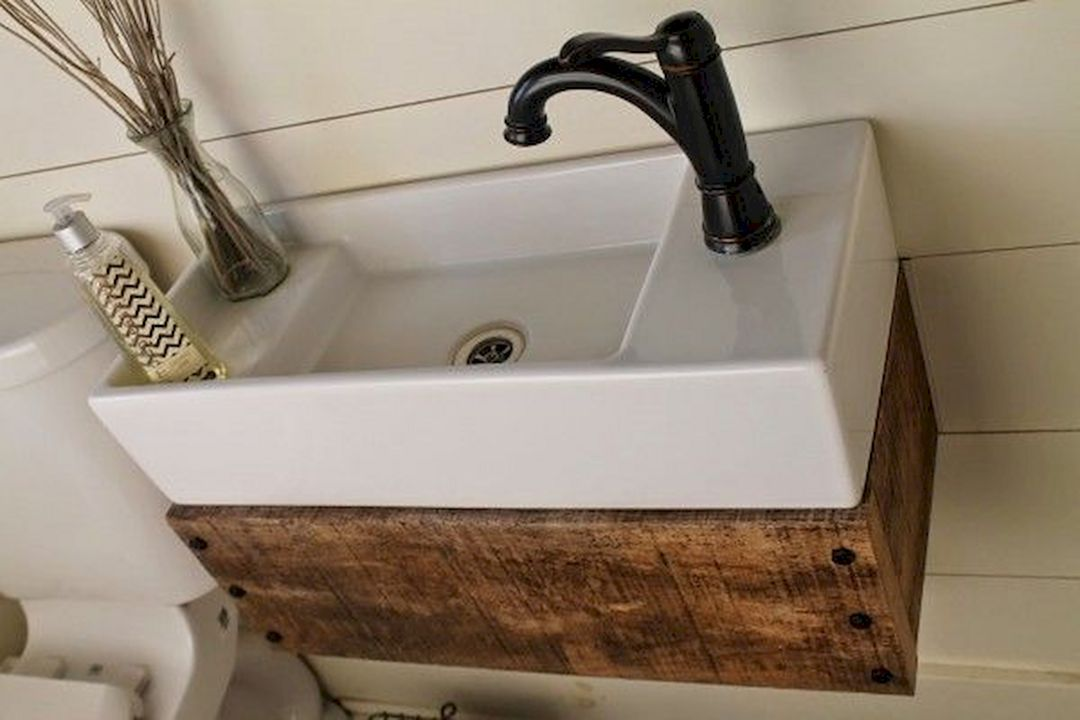 30 Best Skoolie Bathroom Ideas For You Who Want To Do Renovation Small Bathroom Sinks Ikea Sinks Floating Vanity